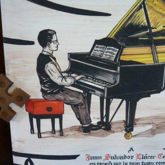 Socarrat Cerámica Pianista