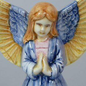 Figura de Ceramica Belen Angel Custodio