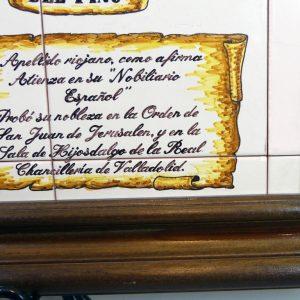 Escudo Heraldico Albea del Pino Familia