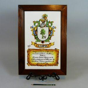 Escudo Heráldico Llopis
