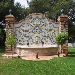 Fuente de Cerámica Sevilla