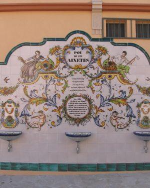 Mural de Cerámica Fuente