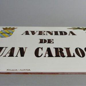 Placa de Calle 31x45 Aceitunas