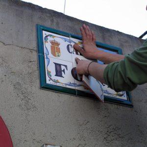 Servicio de Montaje Placas de Calle